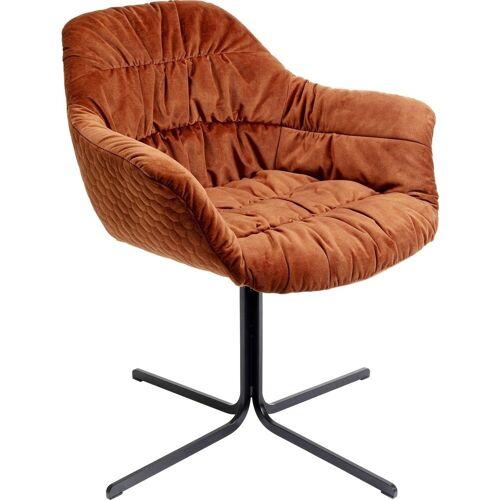 KARE Stuhl »Drehstuhl Colmar Rot«