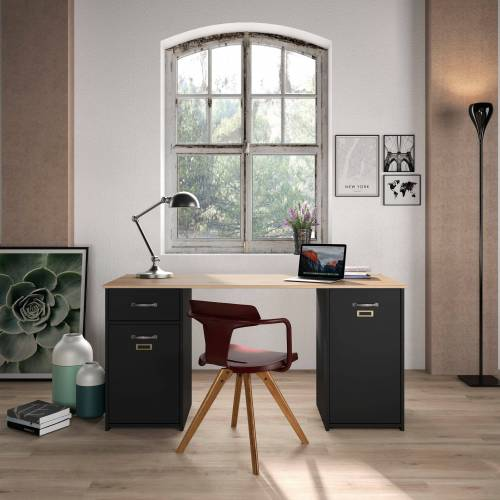 Gami Schreibtisch »Bristol«, mit Stauraum