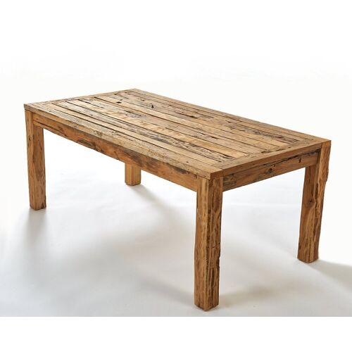 GMD Living Esstisch »RECY« (Teakholztisch), Jeder Tisch ist ein Unikat!