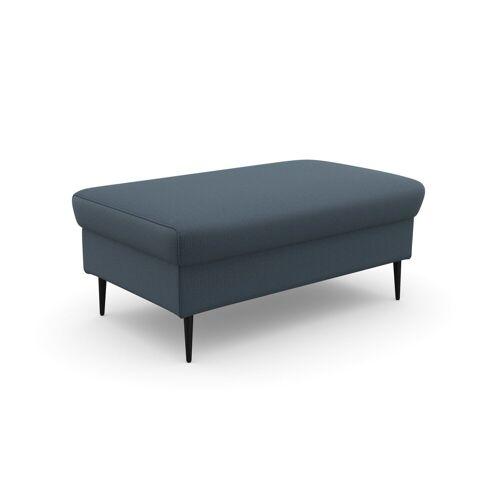 DOMO collection Sitzhocker, in moderner Optik, grau-blau