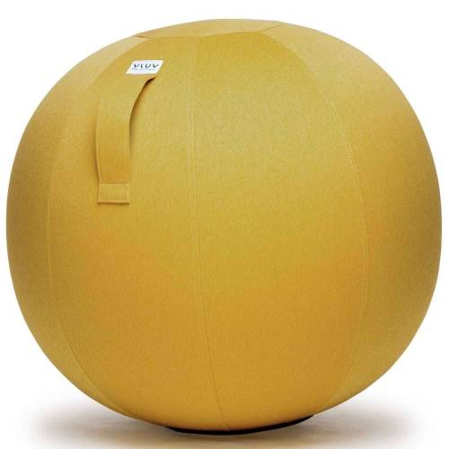 VLUV Stuhl »Leiv Stoff-Sitzball Durchmesser 70-75 cm Mustard / Senfgelb«