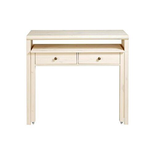 heine home Schreibtisch oder Konsole, weiß
