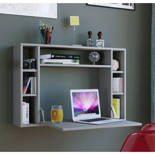 """VCM Schreibtisch »Wandschreibtisch """"Wandila"""" ausklappbar«, Grau"""