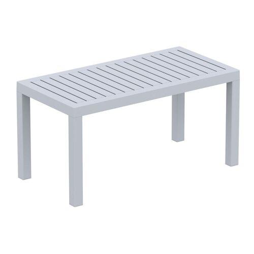 CLP Gartentisch »Ocean«, robuster Gartentisch wetterfest und UV-beständig, grau