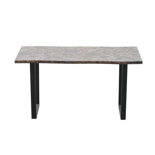 HTI-Line Esstisch »Tisch Detroit marmor dunkel Detroit«, Esstisch
