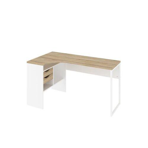 ebuy24 Schreibtisch »Plus Eckschreibtisch mit 3 Ablagen und 2 Schublade«