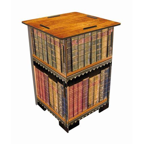 WERKHAUS® Hocker »Photo-Hocker 295 x 295 x 420 mm«, Fotohocker 183 - Antike Bücher, Antike Bücher
