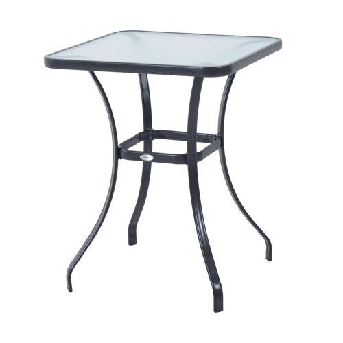 Outsunny Gartentisch »Glastisch«