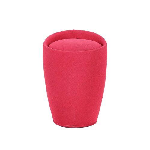HTI-Line Wäschetonne »Badhocker - Wäschekorb Badhocker - Wäschekorb«, Rot