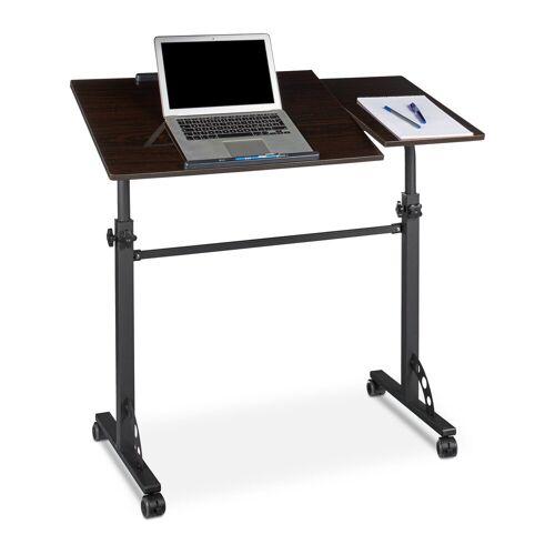 relaxdays Laptoptisch »Laptoptisch groß Premium XXL«, Schwarz