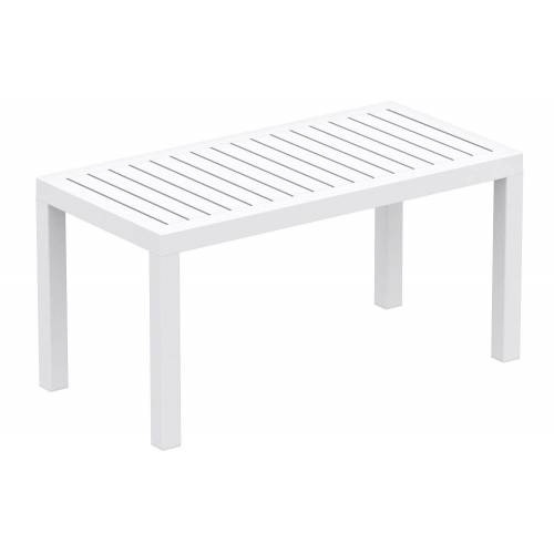 CLP Gartentisch »Ocean«, robuster Gartentisch wetterfest und UV-beständig, weiß