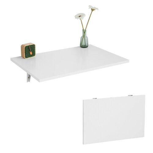 SoBuy Klapptisch »FWT21«, Wandklapptisch Esstisch Küchentisch Schreibtisch