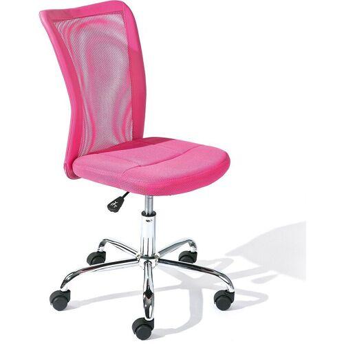 Inter Link Schreibtischstuhl »Drehstuhl AIKE, blau«, rosa