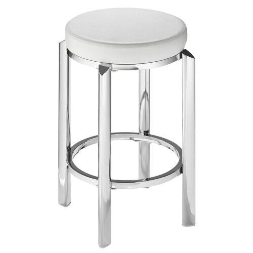 heine home Hocker mit gepolsterter Sitzfläche, weiß