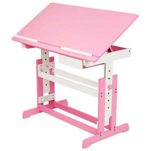 tectake Kinderschreibtisch »Kinderschreibtisch« (1-St), pink