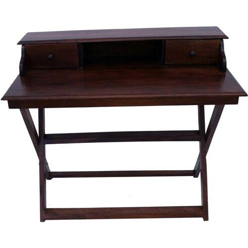 Guru-Shop Schreibtisch »Schreibtisch mit klappbarem Ständer & 2..«