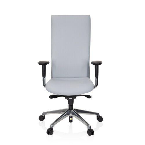 hjh OFFICE Drehstuhl »High End Bürostuhl OFFICE-TEC«, Grau