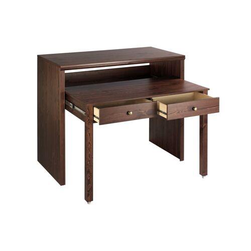 heine home Schreibtisch oder Konsole, braun