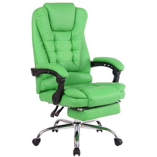 CLP Schreibtischstuhl »Oxygen« mit Fußablage, grün