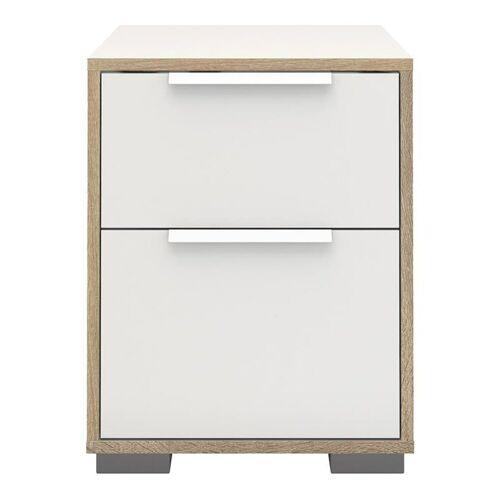 ebuy24 Nachttisch »Signe Nachttisch mit 1 kleinen und 1 grossen Schub«