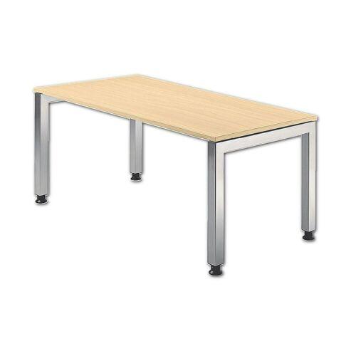 """HAMMERBACHER Schreibtisch »J-Line«, mit optisch """"schwebender"""" Tischplatte, ahorn"""