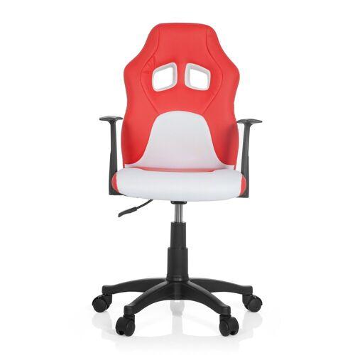 hjh OFFICE Drehstuhl »Kinderdrehstuhl TEEN GAME AL«, Rot / Weiß