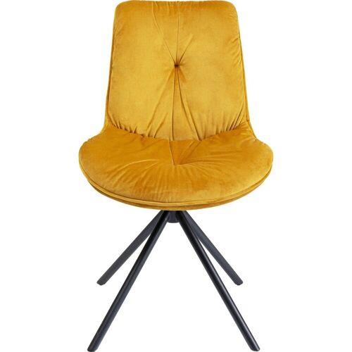KARE Stuhl »Stuhl Mila Gelb«