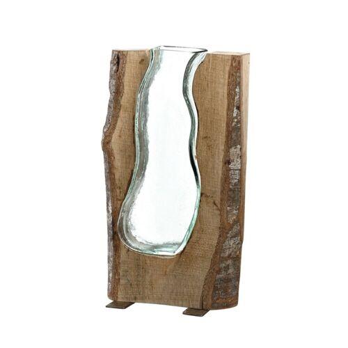 LEONARDO Tischvase »Holzvase 36 cm Casolare«