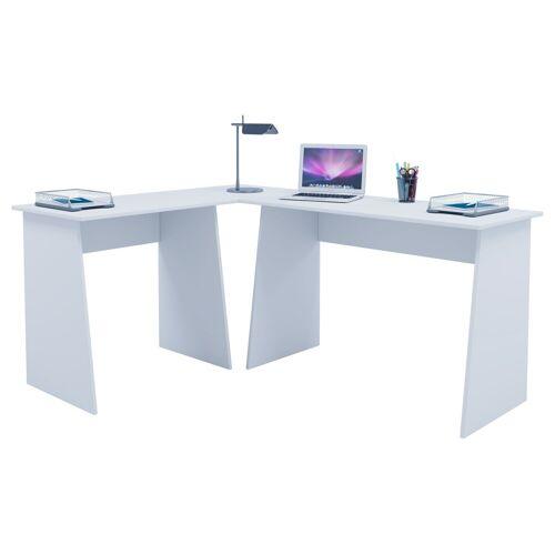 """VCM Schreibtisch »Winkelschreibtisch """"Masola""""«, Weiß"""