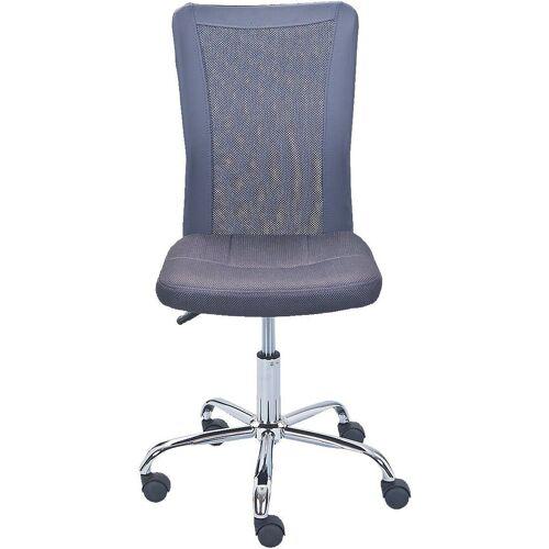 Inter Link Schreibtischstuhl »Drehstuhl AIKE, blau«, grau