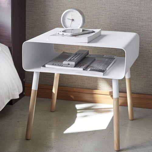 Yamazaki Beistelltisch »Plain«, Beistelltisch, Sofatisch, Nachttisch, weiß