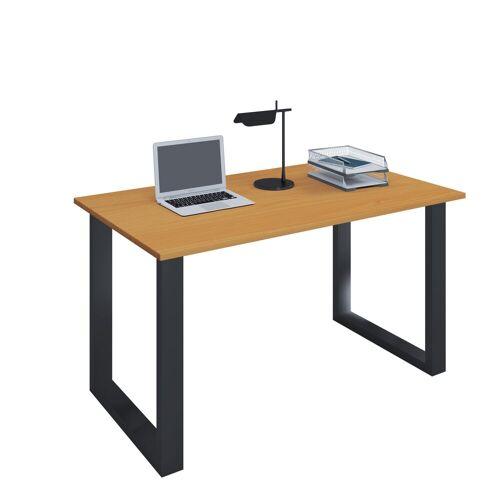 """VCM Schreibtisch »Premium Schreibtisch """"Lona BK""""«, B. 110 x T. 50 cm: Buche"""