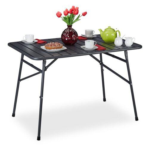 relaxdays Gartentisch »Gartentisch klappbar Metall«