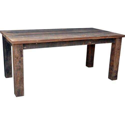 Guru-Shop Esstisch »Esstisch aus rustikalen Holzbohlen (JH3-181)«