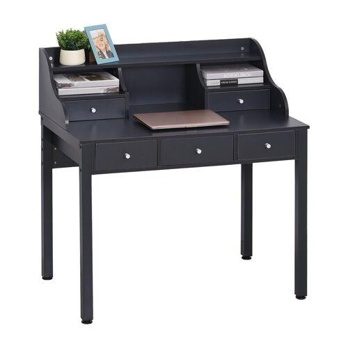 HOMCOM Schreibtisch »Schreibtisch mit Schubladen«