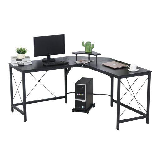 HOMCOM Computertisch »Computertisch in L-Form«