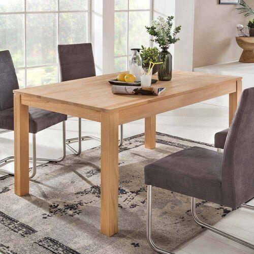 Pharao24 Tisch »Jonathan«, aus Massivholz, ausziehbar, ausziehbar