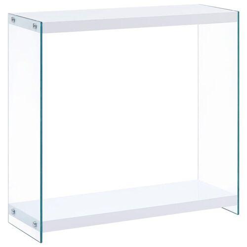 vidaXL Konsolentisch »Konsolentisch Weiß 80 x 29 x 75,5 cm MDF«
