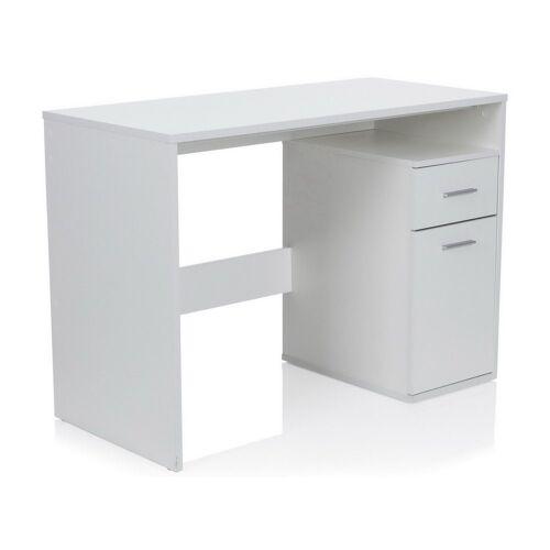 hjh OFFICE Schreibtisch »Schreibtisch BASIX«, Weiß