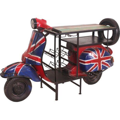 SIT Bartisch »This&That«, für echte Vespa Fans, mit britischer Flagge