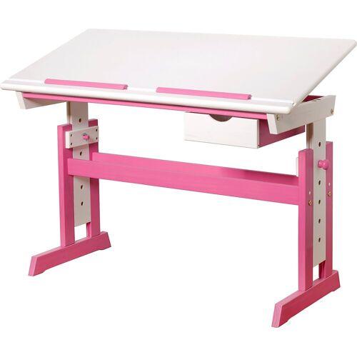 MyToys-COLLECTION Schreibtisch, pink/weiß