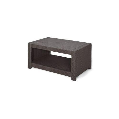 Allibert Gartentisch »Monaco Tisch« (1-St), 1x Tisch, braun   braun   braun
