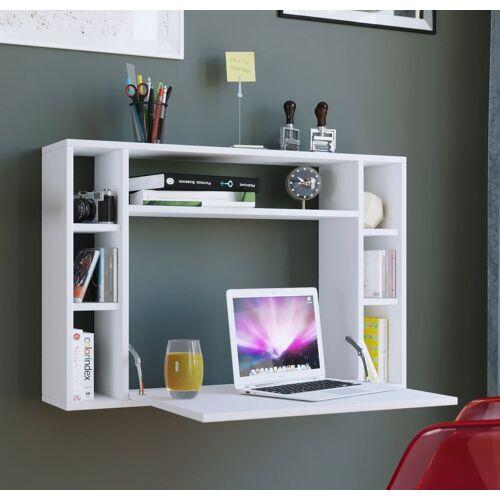 """VCM Schreibtisch »Wandschreibtisch """"Wandila"""" ausklappbar«, Weiß"""