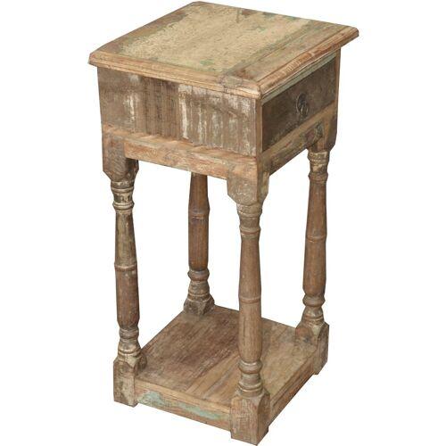 Guru-Shop Schreibtisch »Telefontisch aus Recycleholz«