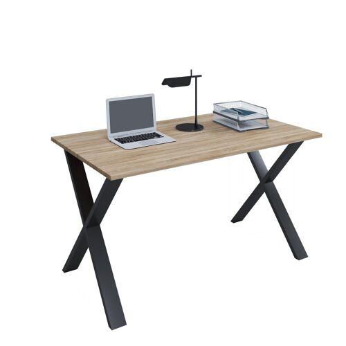 VCM Schreibtisch, B. 140 x T. 50 cm: Sonoma-Eiche