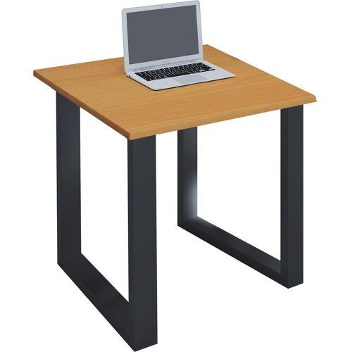 """VCM Schreibtisch »Premium Schreibtisch """"Lona BK""""«, B. 80 x T. 80 cm: Buche"""