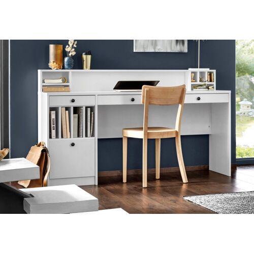 """Places of Style Schreibtisch »Licia«, Schreibtisch """"Licia"""" Große Arbeitsplatte mit viel Ablagefläche, weiß"""