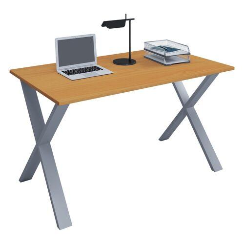 """VCM Schreibtisch »Premium Schreibtisch """"Lona XSI""""«, B. 110 x T. 80 cm: Buche"""