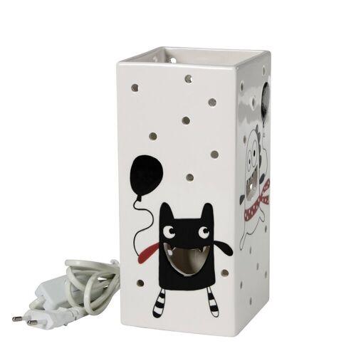 CULTDESIGN Nachttischlampe »MINIMONSTER Kinderlampe weiß«