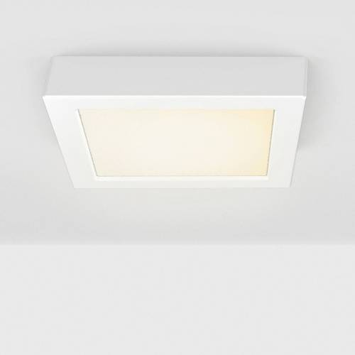B.K.Licht LED Aufbaustrahler, LED Unterbauleuchte inkl. 12W 900lm 3.000K Aufputz Strahler Eckig weiß